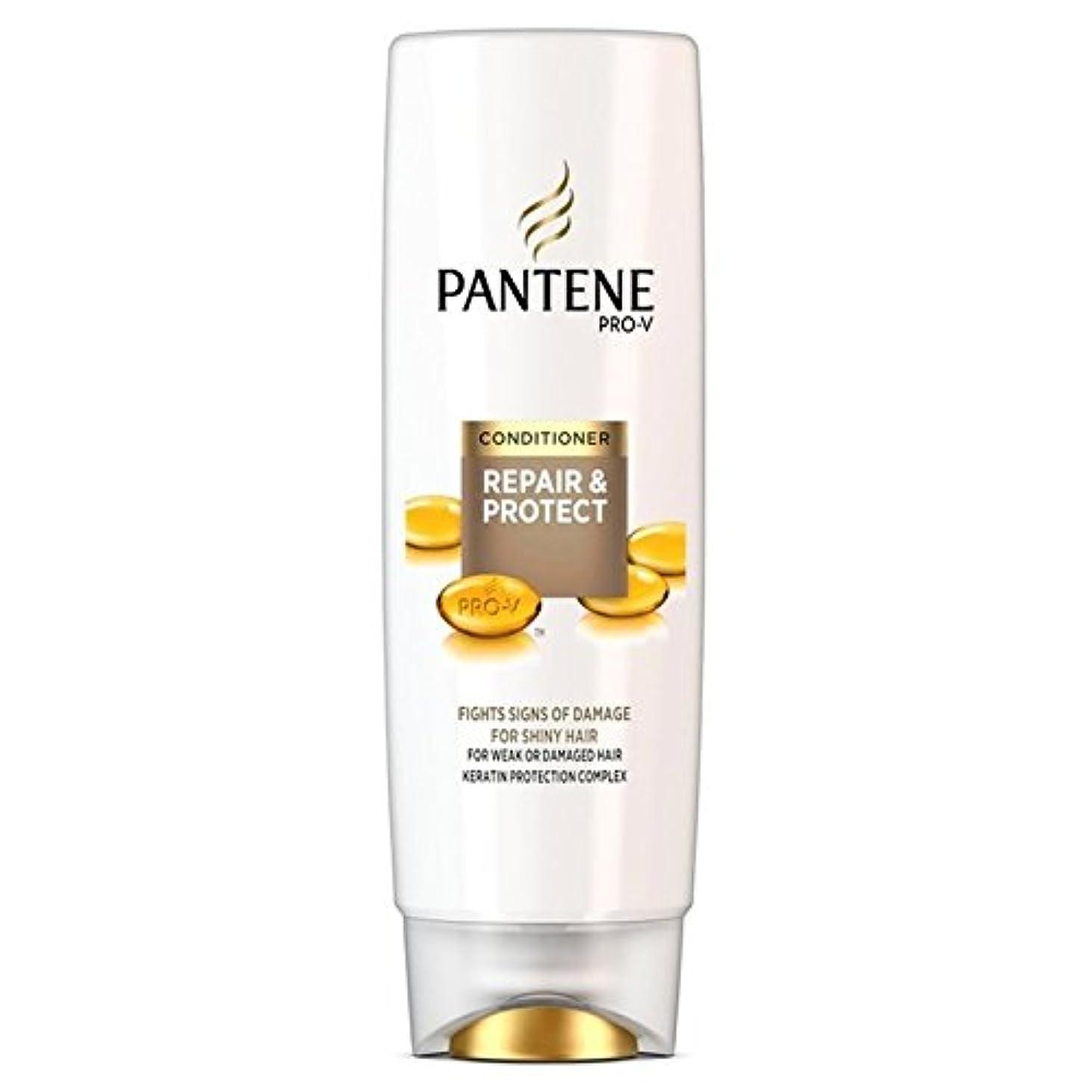 不名誉コントラストクランプパンテーンコンディショナーの修理&弱いか、傷んだ髪の250ミリリットルのための保護 x4 - Pantene Conditioner Repair & Protect For Weak Or Damaged Hair 250ml...
