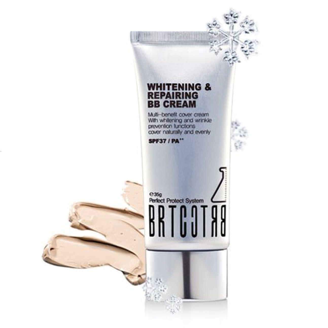 の配列香水敵対的BRTC ホワイトニング リペアリング BBクリーム (SPF37,PA++) [海外直送品][並行輸入品]