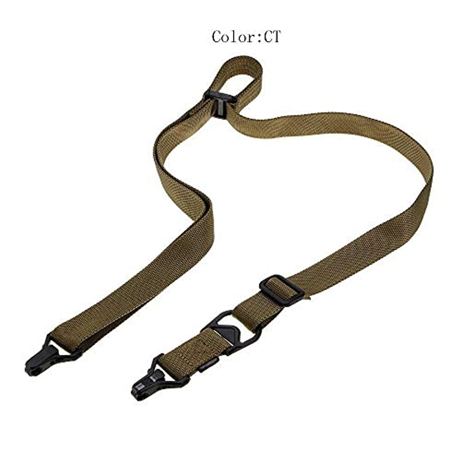 西部汚いボイコット安全ロープで多機能ストラップカメラストラップ卸売シングルポイントダブルポイントでミッション戦術 (Color : B, Size : 162cm/63.8in)