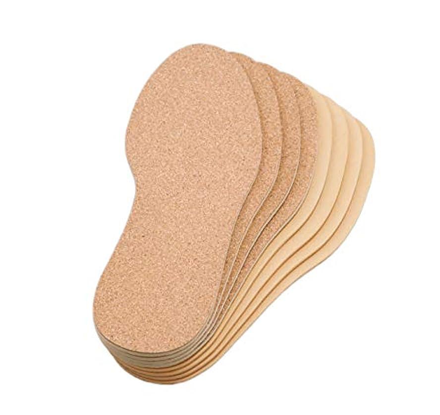 現代のスイ専門化するコルクのクッションインソール 4足組 男女兼用 中敷き 消臭 衝撃吸収 カット可