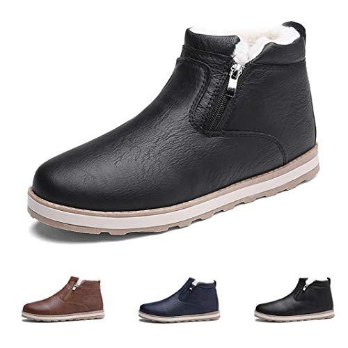 f87da6d7c1a2f  Ziitop  スノーブーツ メンズ ブーツ 冬靴 防寒 防水 防滑の綿靴 ショート