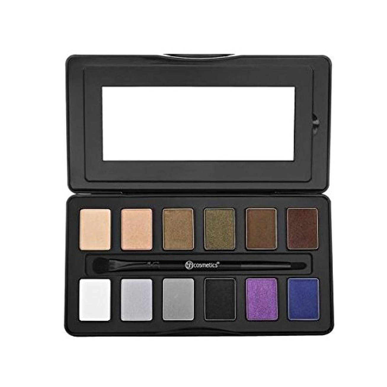 体二週間意見bhcosmetics ビーエイチコスメ アイシャドウ Nude Rose Night Fall - 12 Color Eyeshadow Palette