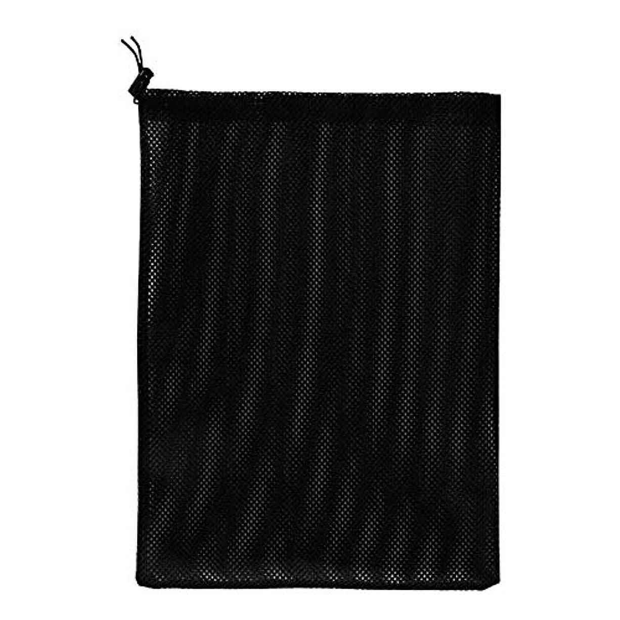 インデックス八百屋さん針ポータブル水ポンプフィルターバッグの引き裂きに強い巾着池ポンプバリアネットポーチメッシュ
