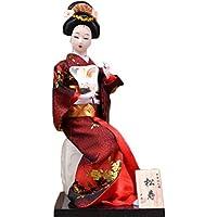 和風の美しい着物芸者/舞妓人形/ギフト/ジュエリー-A31