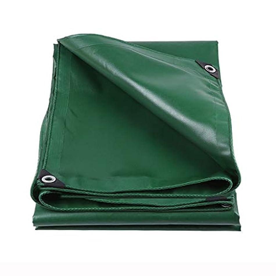 共産主義妖精広々アウトドア 防水シート防水シート防水日厚ターポリンテントクロスターポリンカートラックターポリンカーポートローラーブラインドオーニングシェルター テント (Color : Green, Size : 200*300cm)