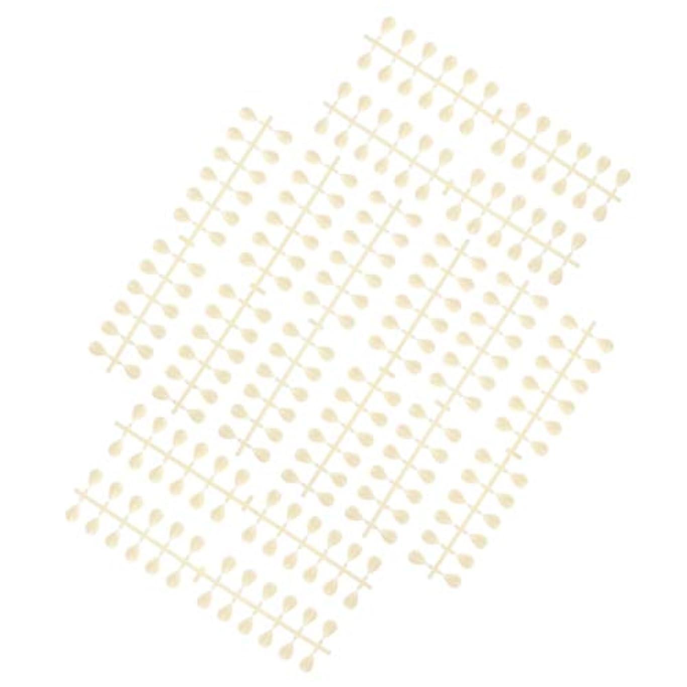 バスチョップバイオレットDYNWAVE ネイルのヒントスティック再利用可能なマニキュアサロンネイルアートディスプレイカラーカード - 水滴