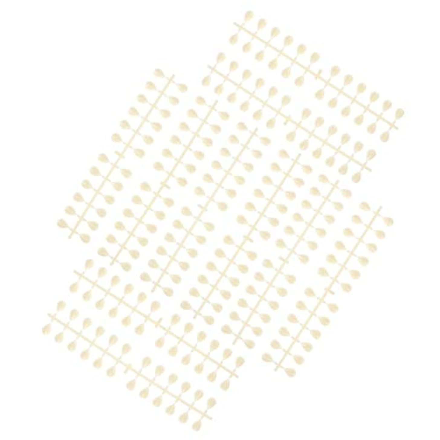 打たれたトラックテラスヒロインDYNWAVE ネイルのヒントスティック再利用可能なマニキュアサロンネイルアートディスプレイカラーカード - 水滴
