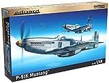 エデュアルド 1/48 プロフィパック アメリカ陸軍航空軍 ノースアメリカン P-51K マスタング プラモデル EDU82105