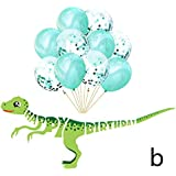 誕生日 飾り付け 風船  カラフル パーティー用品 バルーンセット デコレーション 飾り Happy Birthday かわいい 動物パタン 子供 男の子 女の子 お祝い プレゼント (B)