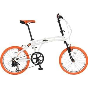 DOPPELGANGER(ドッペルギャンガー) 折りたたみ自転車 BLACKMAXシリーズ BARBAROUS 215-DP 20インチ パラレルツインチューブフレーム採用モデル