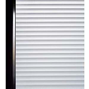 DUOFIRE 窓用フィルム 目隠しシート 紫外線・UVカット ブラインド模様 DP040(0.9M X 3M)