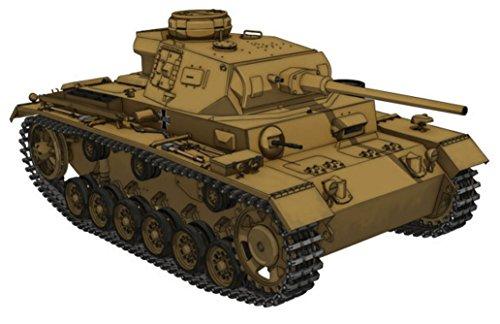 1/35 ガールズ&パンツァー III号戦車J型 -黒森峰女学園ver.-