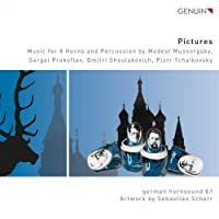 Pictures - Music for 8 Horns and Percussion by german hornsound 8.1 (2013-05-03)