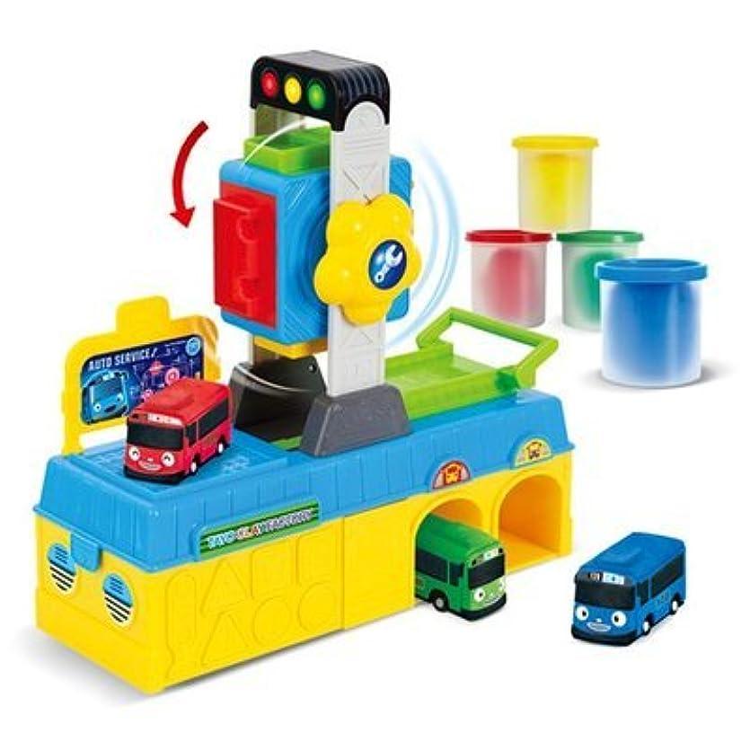 Little Bus Tayo Clay Rolling Factory Car ちびっこバス タヨ クレイ ローリング ファクトリー おもちゃ [並行輸入品]