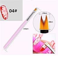 HKUN ブラシ フラワーペン ネイルアートペン ジェルネイル用筆 多種類 プロ仕様