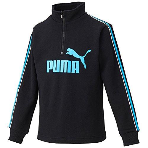(プーマ)PUMA ファンダメンタル ハーフジップ スウェットトレーナー 920167 [キッズ] ...
