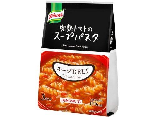 味の素 クノール スープDELI 完熟トマトの スープパスタ (29.4g×3食)×10袋