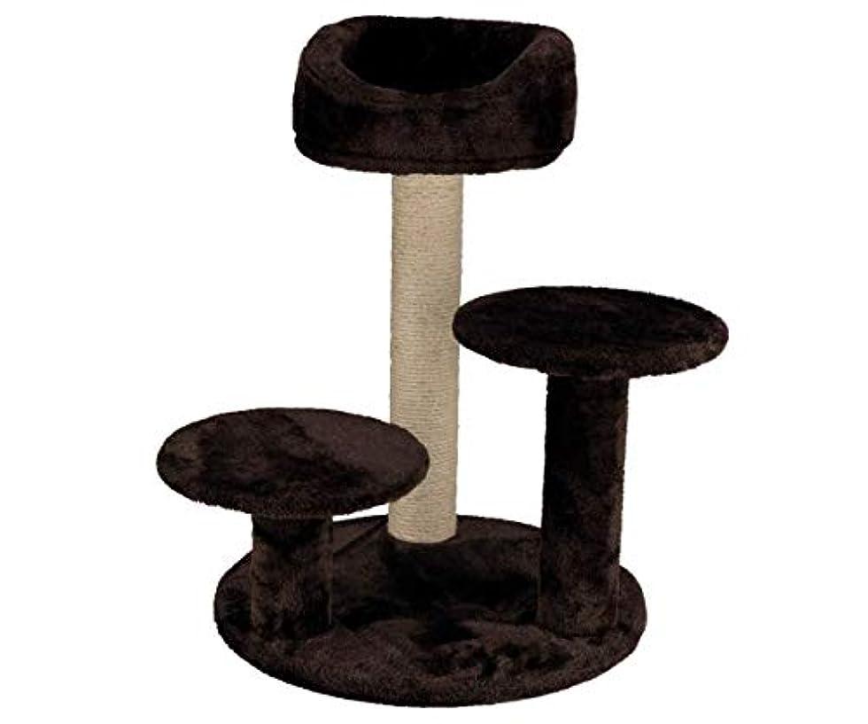 廃棄ポルティコちっちゃいScratcher Orlaのための子猫茶68センチ、キズ、猫