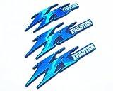 JOG ZR EVOLUTION ジョグZR エボリューション 純正タイプ 立体エンブレム3点 ブルー 4638