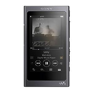 ソニー SONY ウォークマン Aシリーズ 16GB NW-A45 : Bluetooth/microSD/ハイレゾ対応 最大39時間連続再生 2017年モデル グレイッシュブラック NW-A45 B