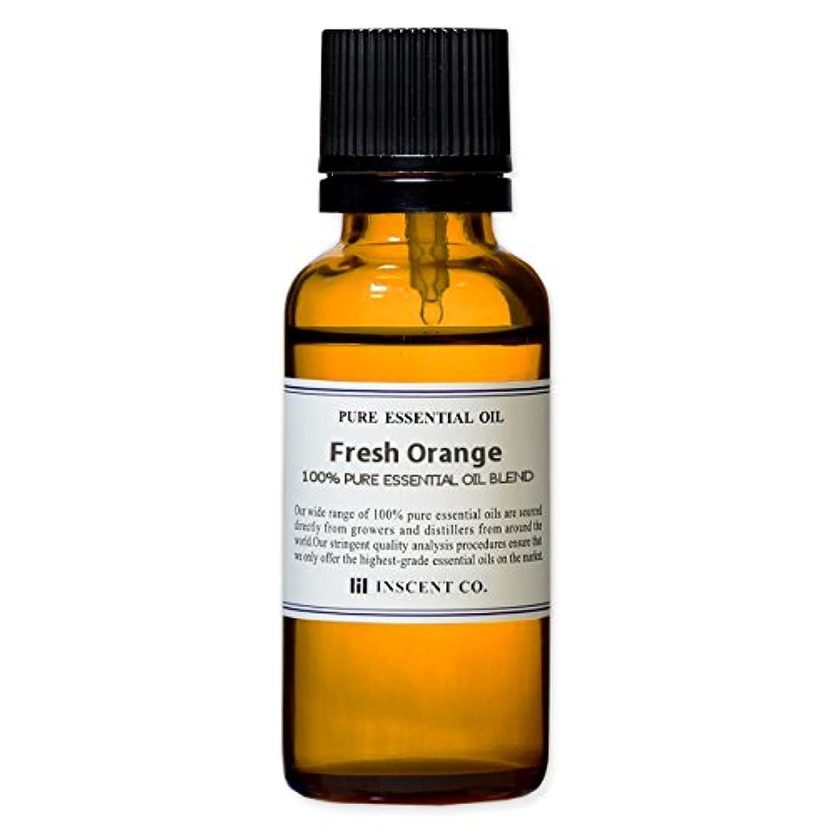 致命的媒染剤仕様アロマ ブレンド フレッシュオレンジ 30ml インセント アロマオイル
