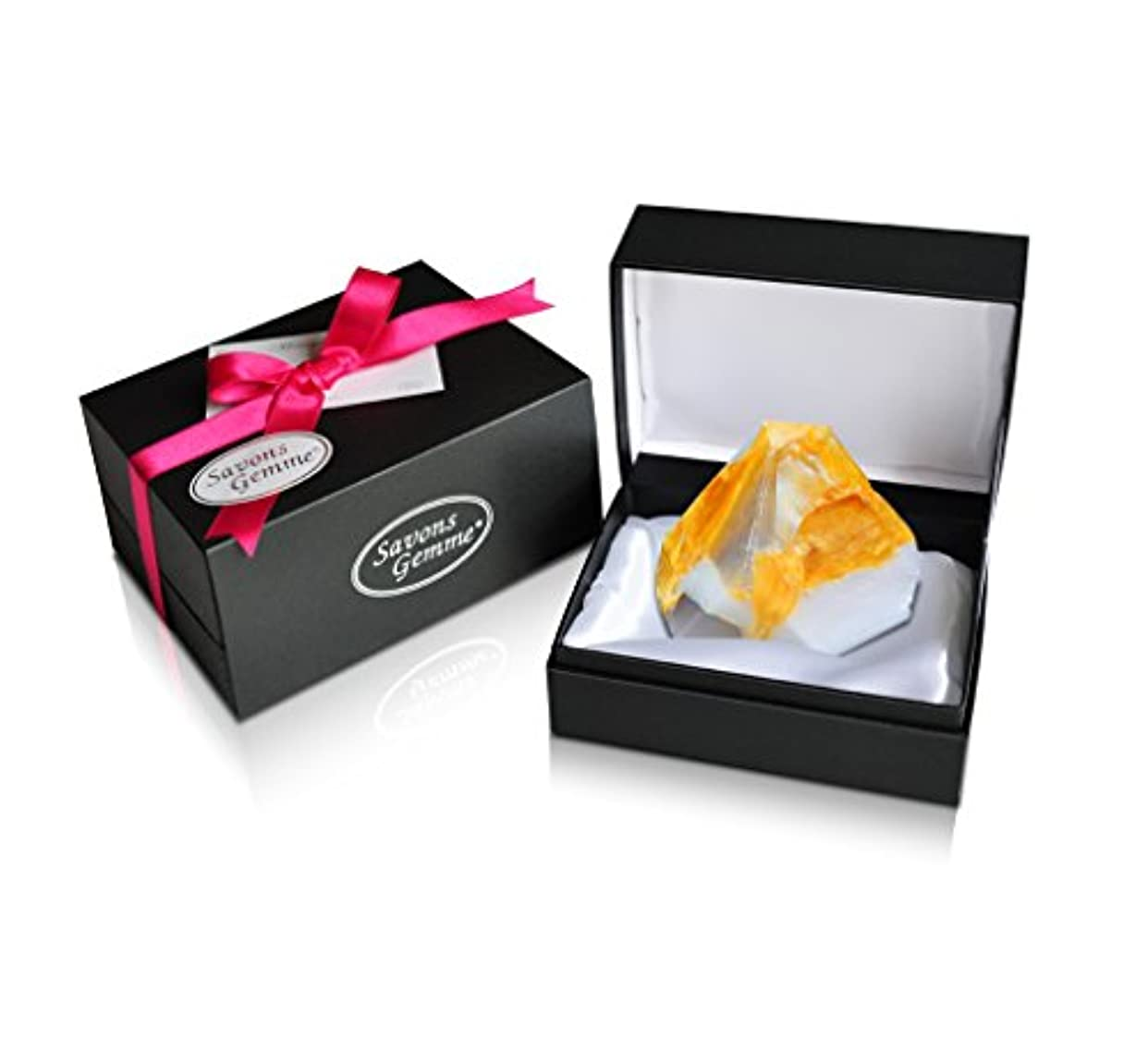 無条件ペフ素敵なSavons Gemme サボンジェム ジュエリーギフトボックス 世界で一番美しい宝石石鹸 フレグランス ソープ 宝石箱のようなラグジュアリー感を演出 アルバトールオリエンタル 170g 【日本総代理店品】