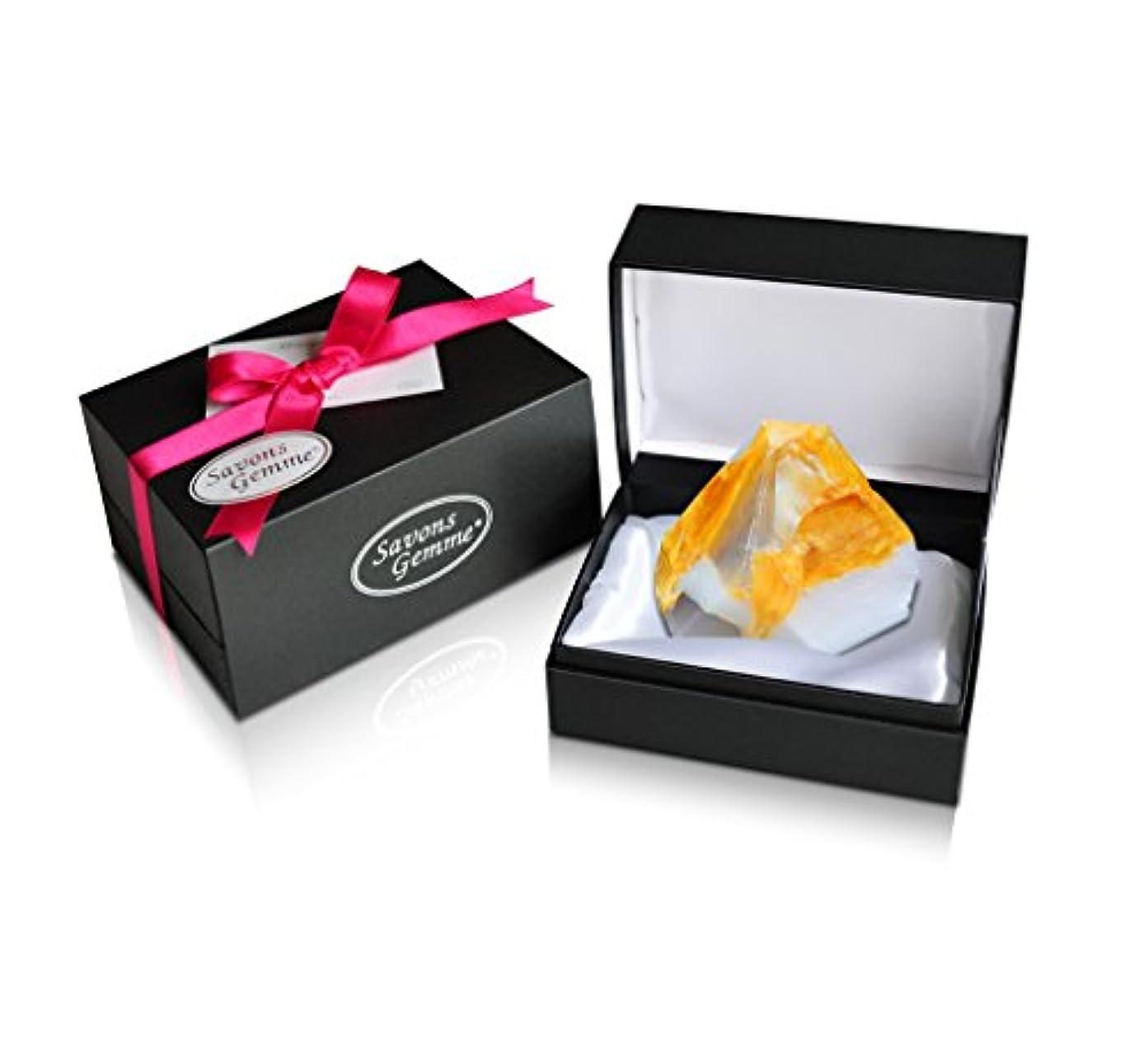 面積部分的すべてSavons Gemme サボンジェム ジュエリーギフトボックス 世界で一番美しい宝石石鹸 フレグランス ソープ 宝石箱のようなラグジュアリー感を演出 アルバトールオリエンタル 170g 【日本総代理店品】