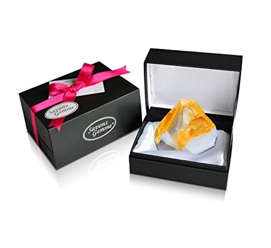 寝る災難政策Savons Gemme サボンジェム ジュエリーギフトボックス 世界で一番美しい宝石石鹸 フレグランス ソープ 宝石箱のようなラグジュアリー感を演出 アルバトールオリエンタル 170g 【日本総代理店品】