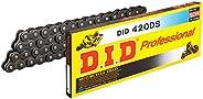 D.I.D(大同工業)バイク用チェーン クリップジョイント付属 420DS-116RB STEEL(スチール) 強化チェーン 二輪 オートバイ用