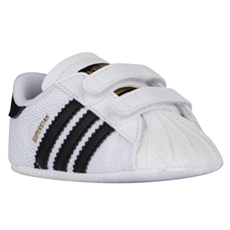 (アディダスオリジナルス) adidas Originals Superstar Crib - Boys' Infant キッズベビー?男児 スニーカー [並行輸入品]