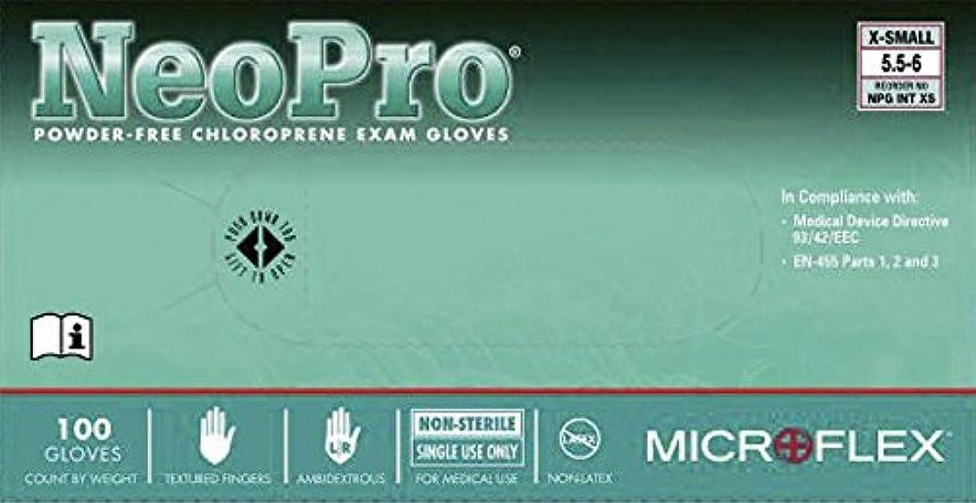 ネオプロノンラテックス手袋 NPG-INT-M 100入