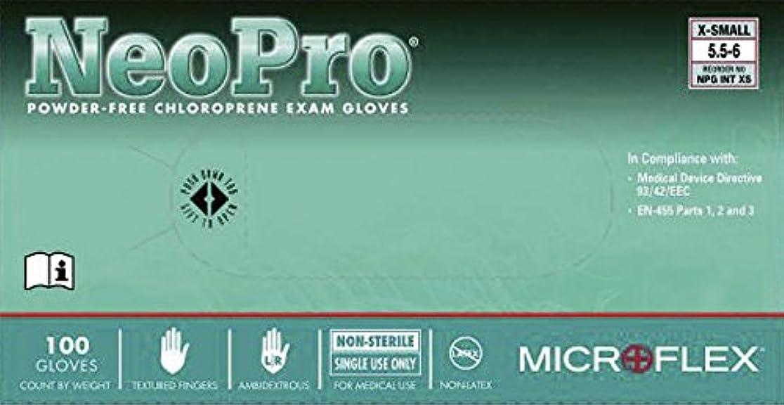 クリーナーラボタブレットネオプロノンラテックス手袋 NPG-INT-M 100入