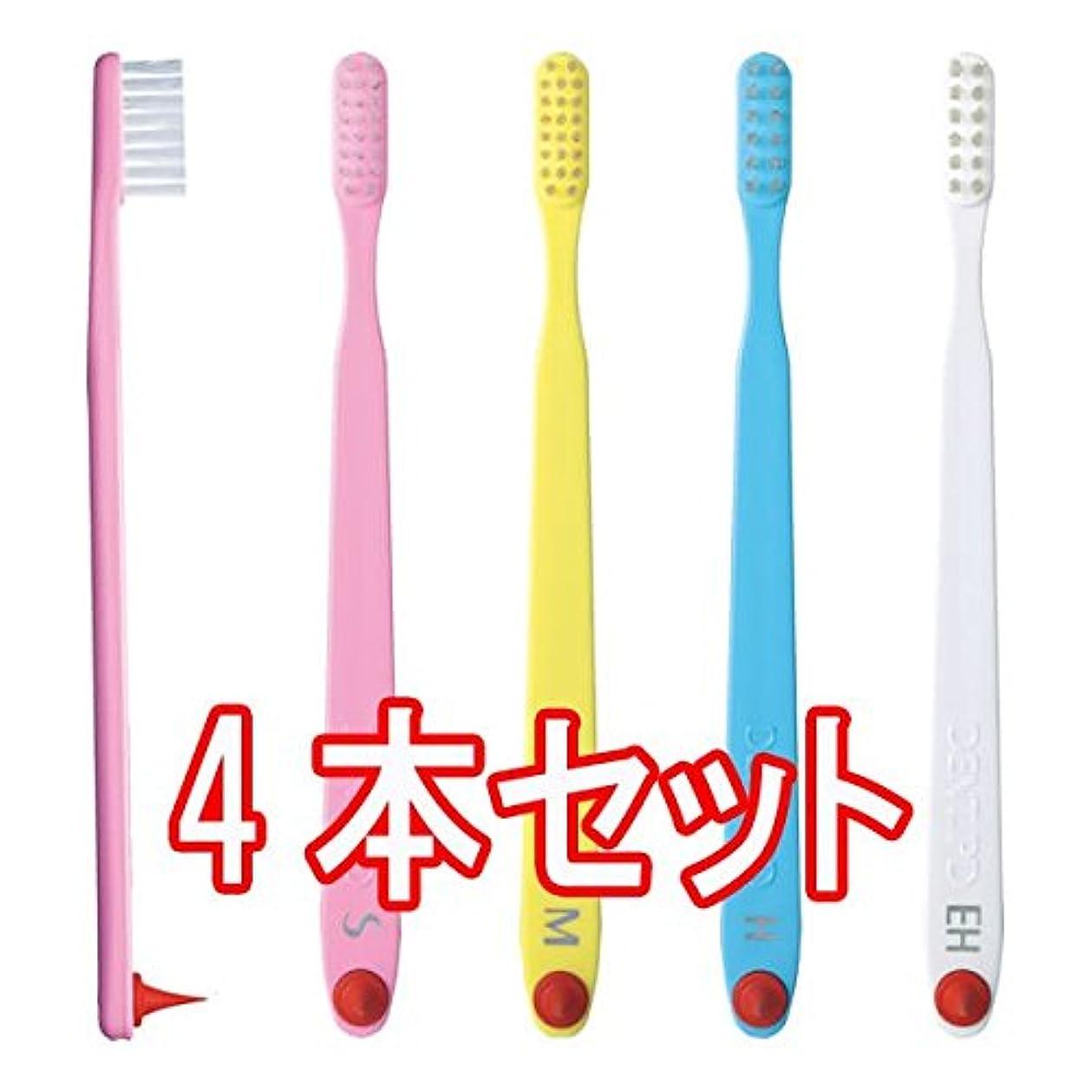 ストローク音節累計ライオン DENT.PD 歯ブラシ 4本入 (M)