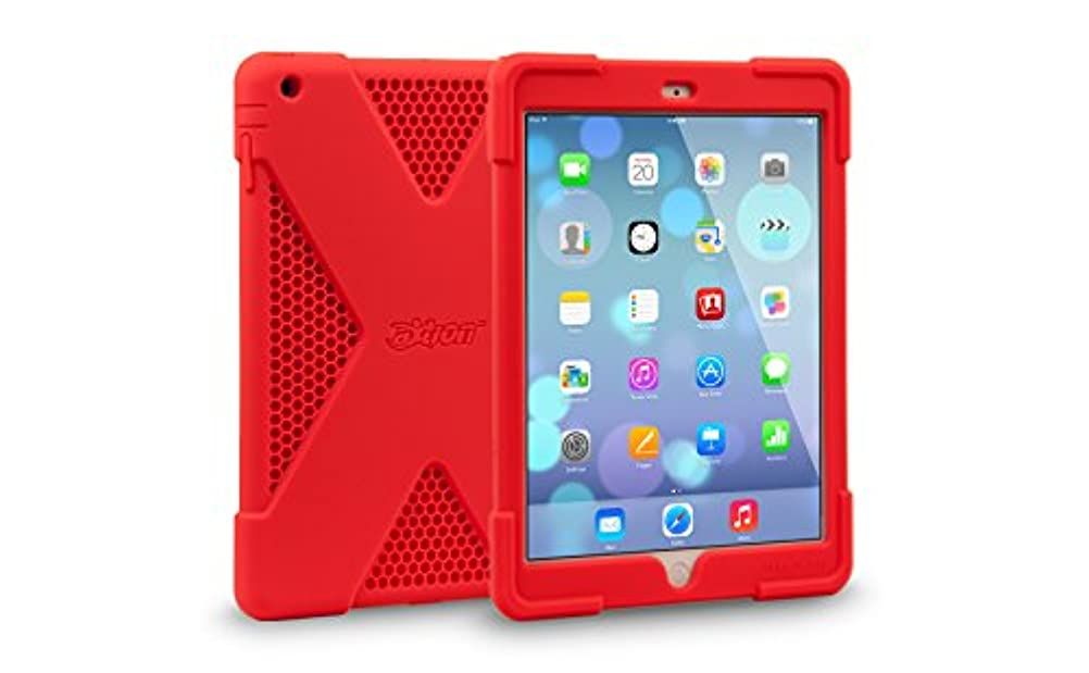 ベンチ近所の部屋を掃除するThe Joy Factory aXtion Edge for iPad Air (Red)
