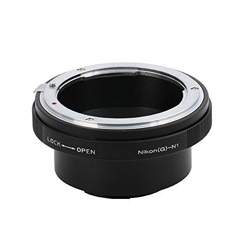 (バシュポ) Pixco マウントアダプターNikon F マウントG レンズ-Nikon 1 カメラ対応 (Nikon.G-Nikon 1)J5 S2 J4 V3 AW1 S1 J3 J2 J1 V2 V1
