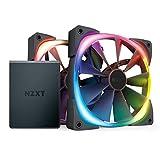 NZXT Aer RGB 2 Starter Kit [ 140mm×2 + HUE2×1セット ] HF-2814C-D1
