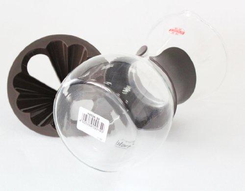 イワキ 耐熱ガラス ドリップサーバー ブラウン 600ml K8694-BR