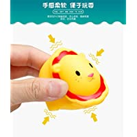 FUHAO お風呂おもちゃ シャワー 水遊ぶ 動物 魚網 ネット 変色ネット 可愛い 子ども 噴水 鳴る