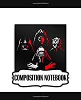Composition Notebook: The Last Jedi Wide Ruled Composition Notebook Star Wars Gifts Series Movies Soft Glossy with Ruled Lined Paper for Taking Notes Writing Workbook for Teens and Children Students School Kids Inexpensive Gift For Boys and Girls