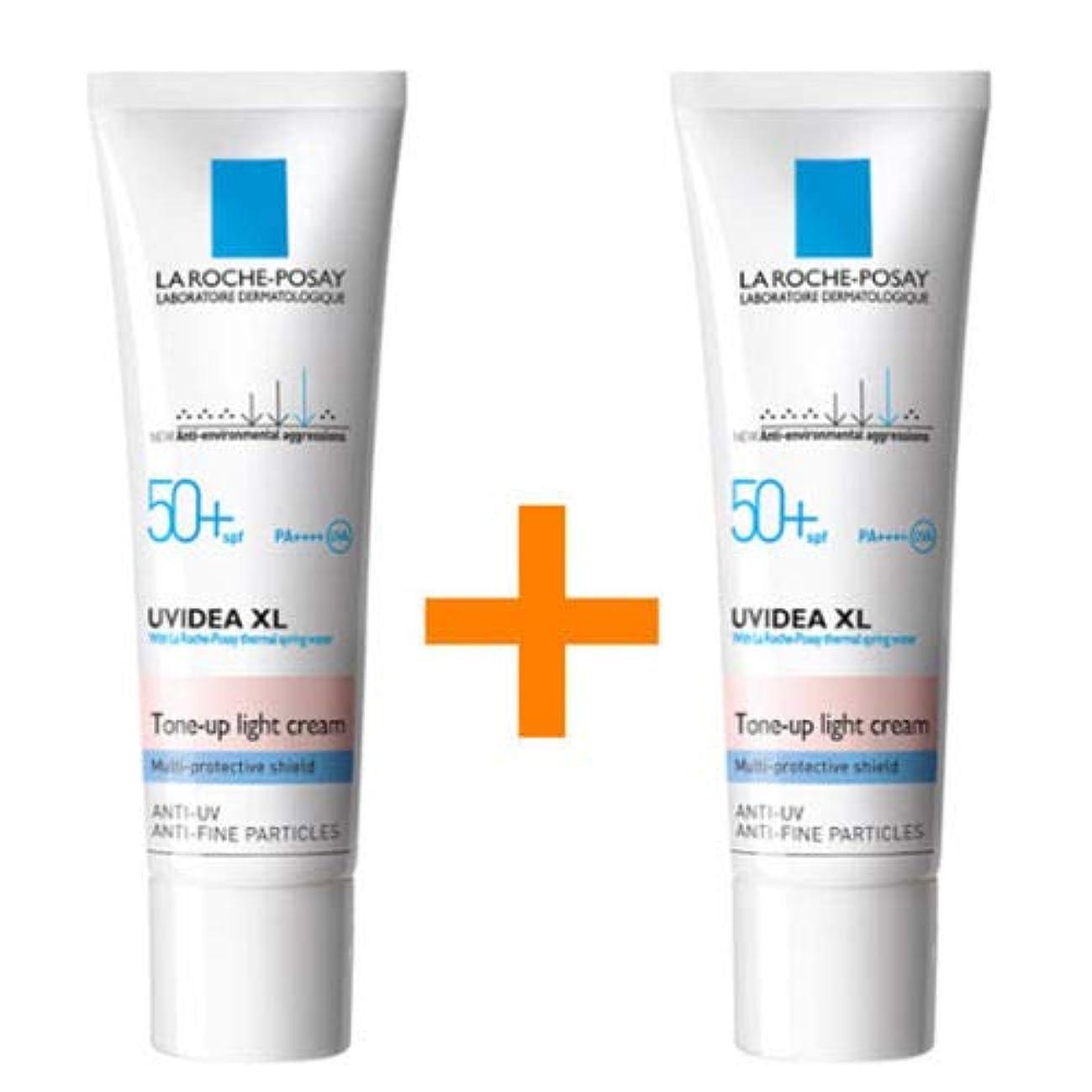 試してみる相互接続保持する[1+1] La Roche-Posay ラロッシュポゼ UVイデア XL プロテクショントーンアップ Uvidea XL Tone-up Light Cream (30ml)