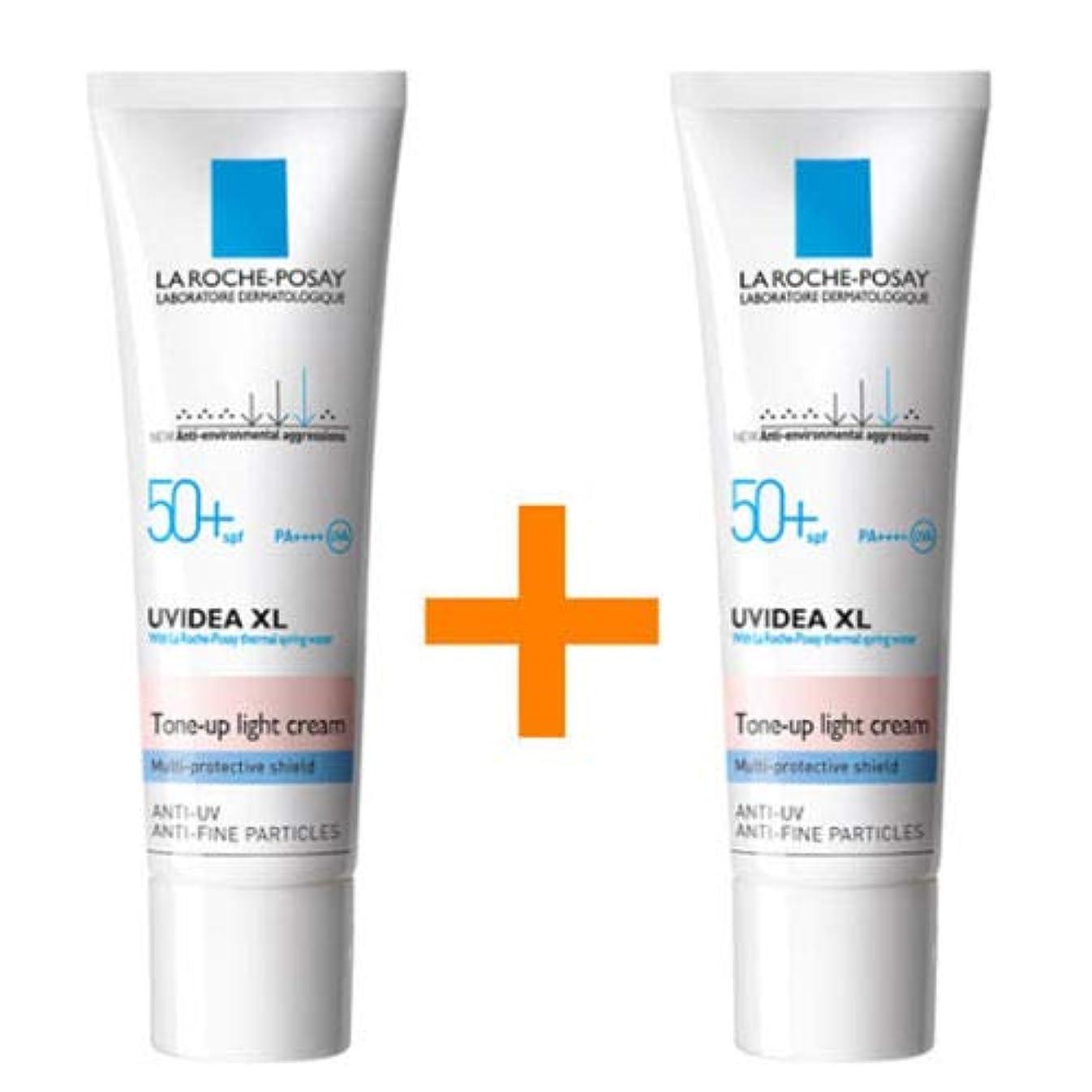 [1+1] La Roche-Posay ラロッシュポゼ UVイデア XL プロテクショントーンアップ Uvidea XL Tone-up Light Cream (30ml)