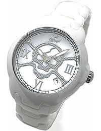 DAD ANGEL ダッドエンジェル 高級フルホワイトセラミック メンズ腕時計 デート付 DAD70303WS [並行輸入品]