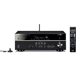 ヤマハ AVレシーバー RX-V581 7.1ch Dolby Atmos DTS:X Bluetooth Wi-Fi ネットワーク ハイレゾ音源対応 ブラック RX-V581(B)
