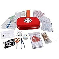 YOURJOY 救急セット 防災 車載救急用品 応急処置セット ファーストエイドキット アウトドア 外傷用 17種類セット 非常時用 応急手当品