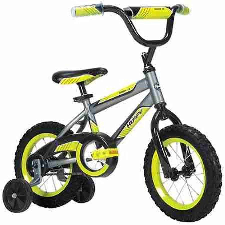 Huffy 12インチバイク – 子供用バランスバイク – 子供用バイク – 組み立て:わかりやすい組み立て説明書付き (日本語でない場合があります) 寸法:長さ32インチ x 幅19インチ x 高さ27インチ – 丈夫なスチールフレームとスチールリム付き