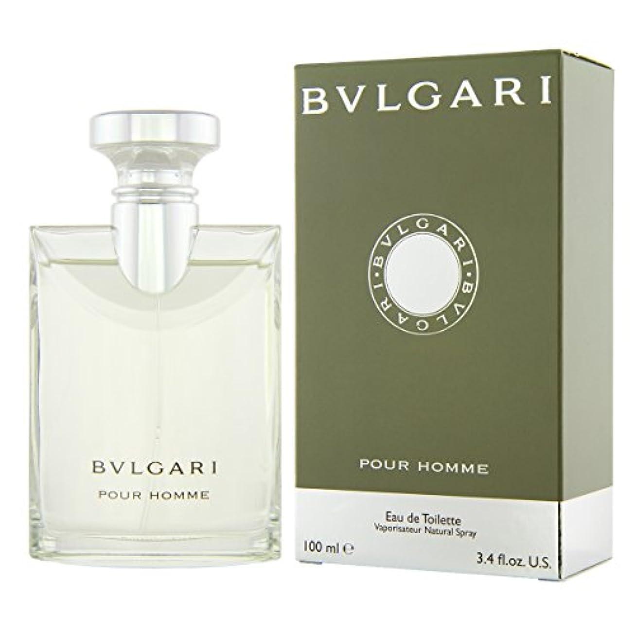 いっぱいラベ一貫性のないブルガリ プールオム オードトワレ EDT 100mL 香水