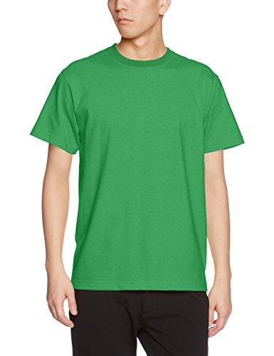 ユナイテッドアスレ 5.6オンス ハイクオリティー Tシャツ 500101 025 ブライトグリーン S