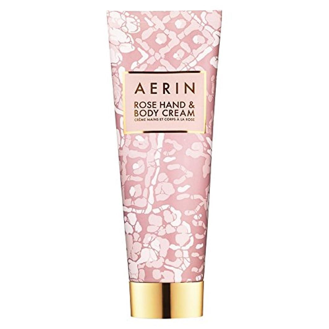 ネックレス横たわる達成可能Aerinはハンド&ボディクリーム125ミリリットルをバラ (AERIN) (x6) - AERIN Rose Hand & Body Cream 125ml (Pack of 6) [並行輸入品]