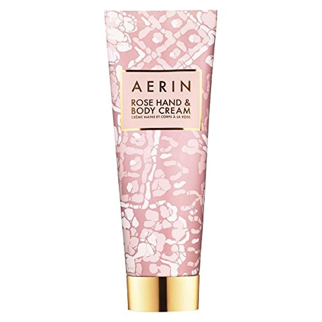 目に見えるリール下着Aerinはハンド&ボディクリーム125ミリリットルをバラ (AERIN) (x2) - AERIN Rose Hand & Body Cream 125ml (Pack of 2) [並行輸入品]