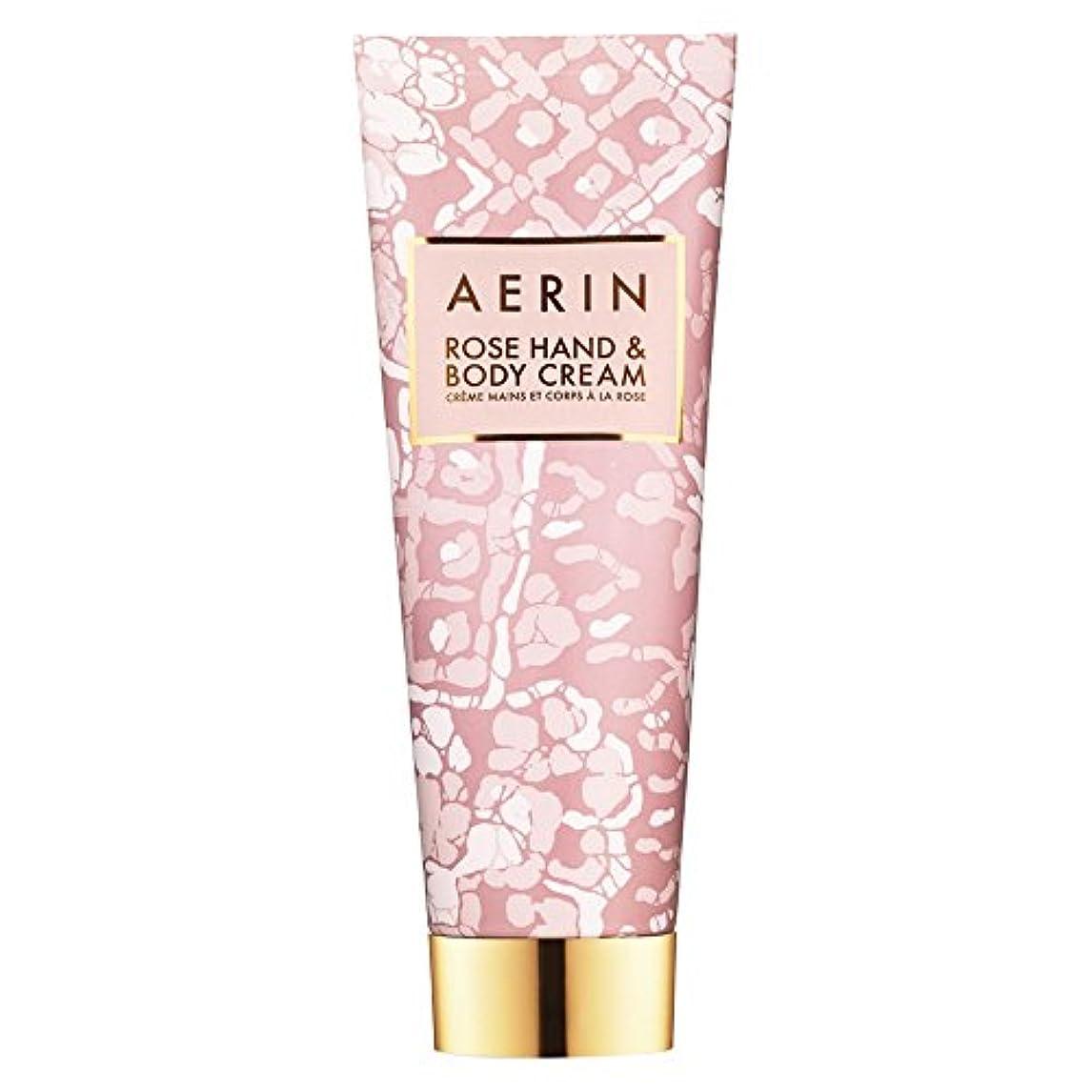 マーチャンダイジンググラフィック粒Aerinはハンド&ボディクリーム125ミリリットルをバラ (AERIN) (x2) - AERIN Rose Hand & Body Cream 125ml (Pack of 2) [並行輸入品]
